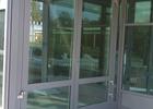 dvokrilna aluminijska vrata