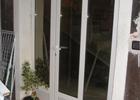 jednokrilna alu vrata sa punim panelom