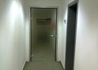 pjeskarena staklena vrata