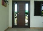 Jednokrilna alu vrata sa panelima