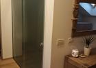 Staklena klizna vrata sa fiksnim dijelom