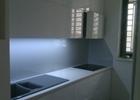 Kuhinjsko kaljeno staklo