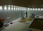 Emajlirano bijelo staklo kuhinje