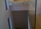 Kaljena staklena ograda u stanu
